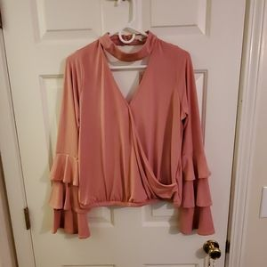 Gianni Bini Bell Sleeve Shirt